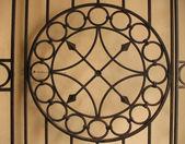 Patterned metal gates — Stock Photo