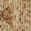 The texture of matzo - unleavened - Stock Photo