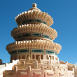 Pagoda, collected from designer, sky — Stock Photo #2255383