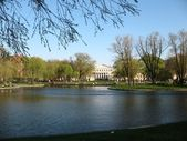 Yusupov Gardens in St. Petersburg — Stock Photo