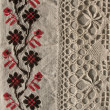 Background. Еmbroidery pattern. Lace - Stock Photo