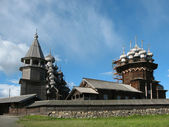 Kizhi Museum of Wooden Architecture — Stock Photo