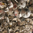Buttons nickel — Stock Photo