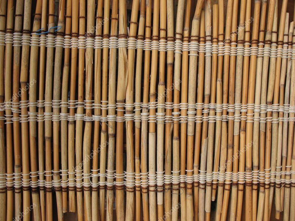 Mat of reeds. Background   Stock Photo #2391021