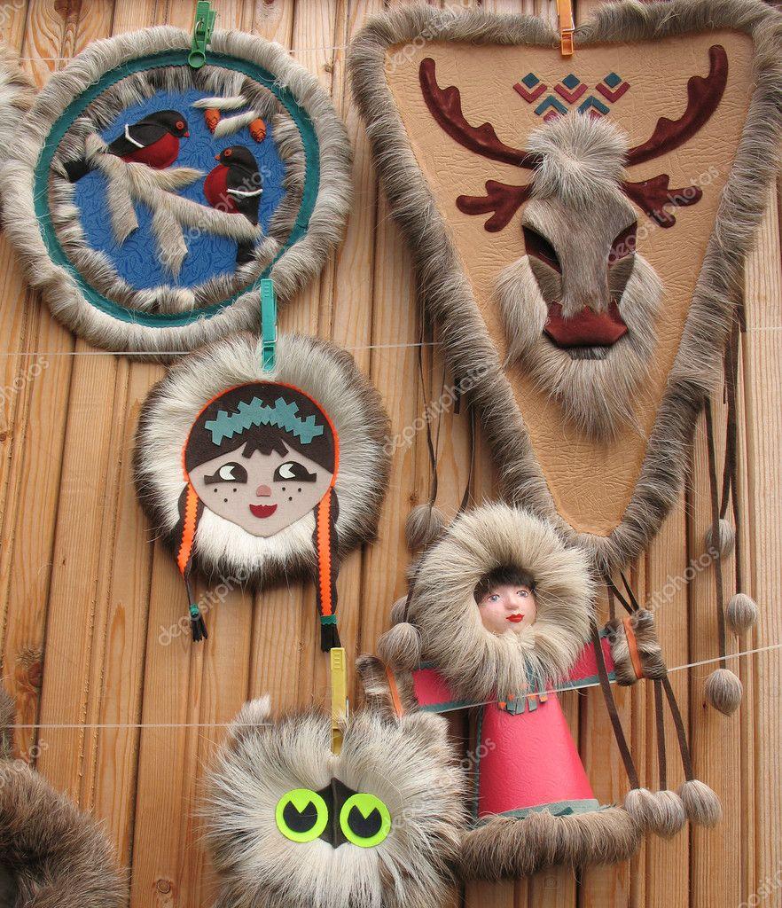 Меховые сувениры своими руками