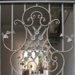 Patterned metal gates — Stock Photo #2406920