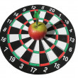 Target and darts — Stock Photo #2443900
