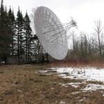 Radio telescope at Pulkovo observatory — Stock Photo
