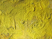 A fragment of the canvas with oil paints — Stock Photo