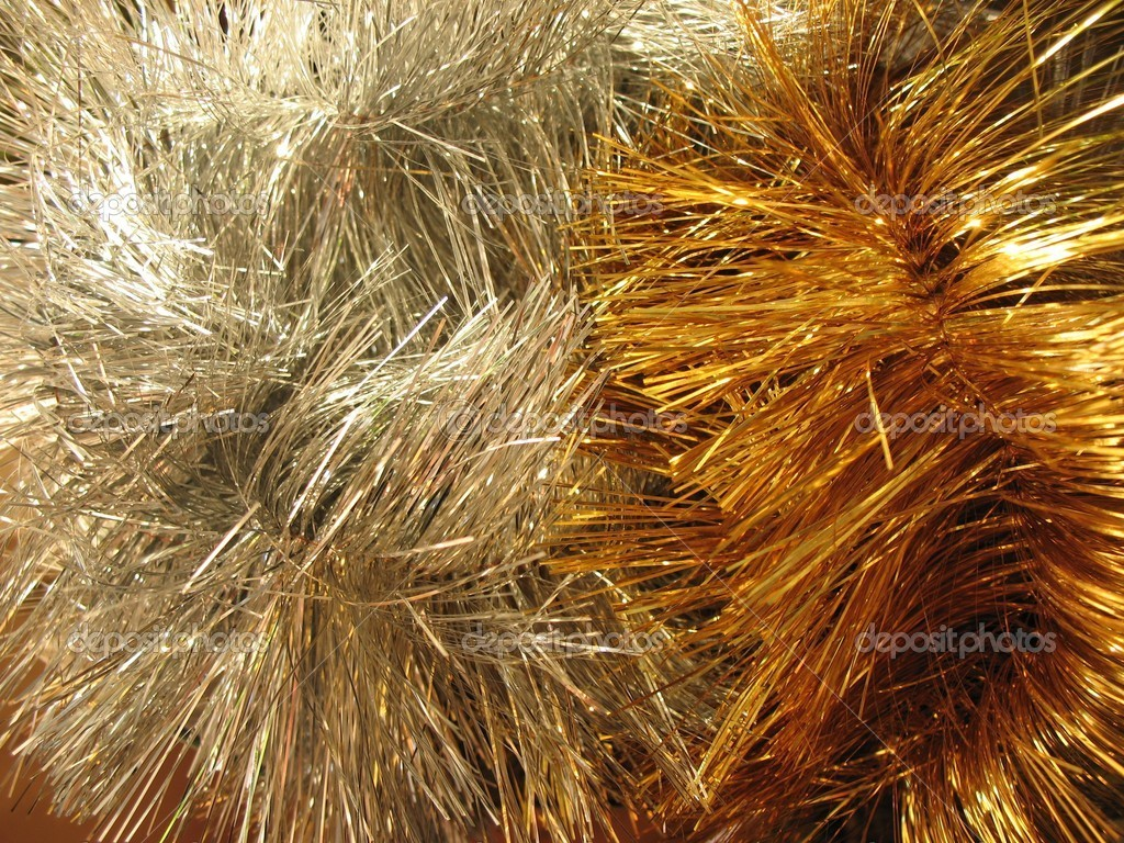 Christmas-tree tinsel   Stok fotoraf #2462996
