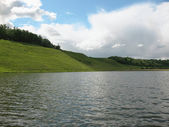 Gorodyshchens'ka Lake. Pskov region — Stock Photo