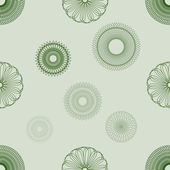 Spirograph Seamless Background — Stock Vector