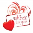 Royalty-Free Stock Vektorov obrzek: Love card