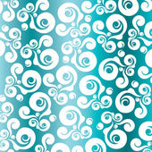Decoratie turquoise backround — Stockvector