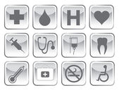 Medical symbol set — Stock Vector