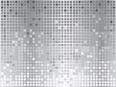 Silver disco background — Vettoriale Stock