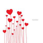 карты любви — Cтоковый вектор