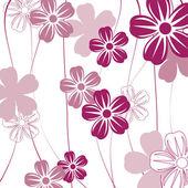 Fundo floral — Vetor de Stock