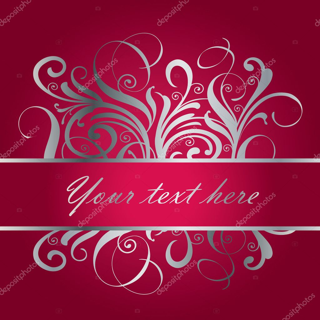 Card for  birthday,  valentine,  xmas.... — Stock Vector #2393727