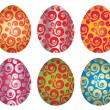 Easter eggs — Stock Vector #2590449