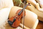 Violin at home. — Stock Photo