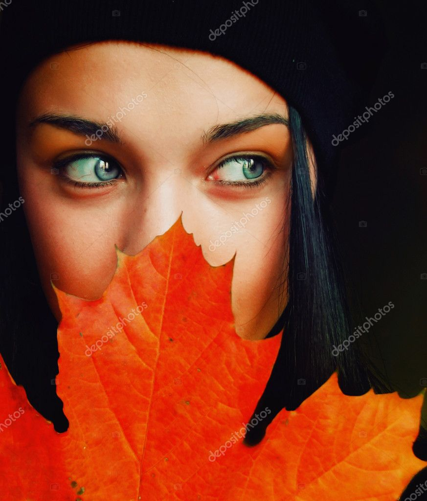 Autumn girl — Foto Stock #2065704