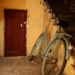 Stock Photo: Old bicycle