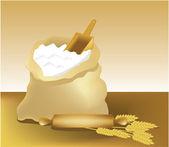 Flour — Stockvector