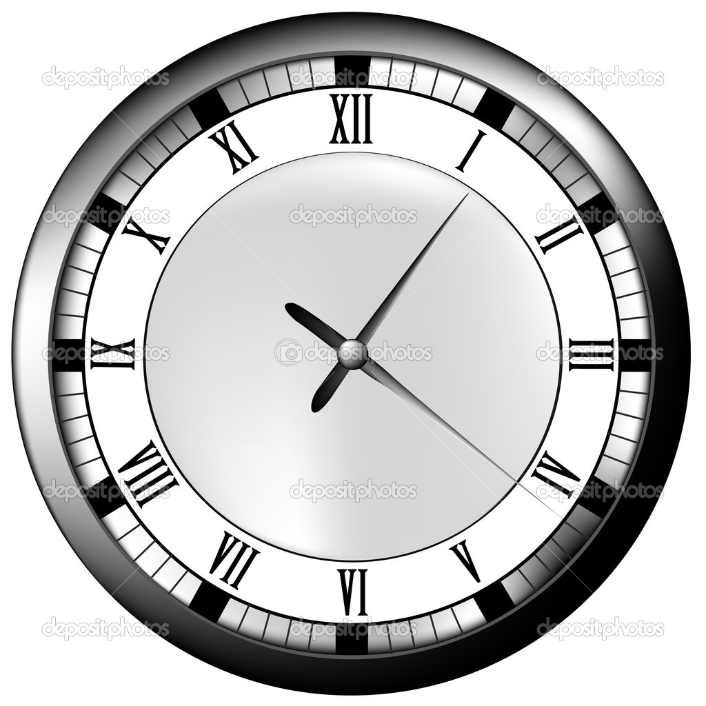 Vector clock. — Stock Vector #2403771