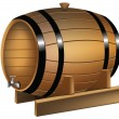 Barrel — Stock Vector