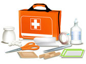 First Aid kit — Vector de stock