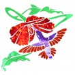 Humming bird — Vector de stock #2165581
