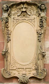 Baroque bas-relief board — Stock Photo