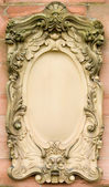 Baroque bas-relief board — Stock Photo