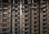 Metal industrial background — Stock Photo