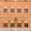 Basilica in Siena — Stock Photo