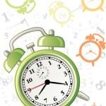 Alarm background — Stock Vector