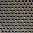 Royalty-Free Stock Photo: Perforated Metal Background