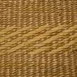 Staw basket background - Stock Photo
