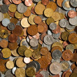 Coins of the world — Stock Photo