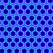 Stock Photo: Hexagonal pattern