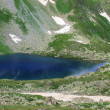 Lake in mountains. - Stockfoto