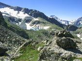 Lake in mountains. — Stock Photo