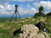 Landscape shooting — Stock Photo