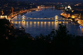 Budapest city panorama — Stock Photo