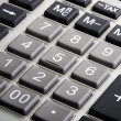 Stock Photo: Calculator closeup