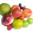 Artificial fruits — Stock Photo