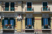 Italian balconies — Stock Photo