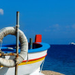 Stock Photo: Sicilifishermboat