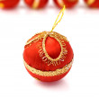 Christmas ornament isolated on white — Stock Photo